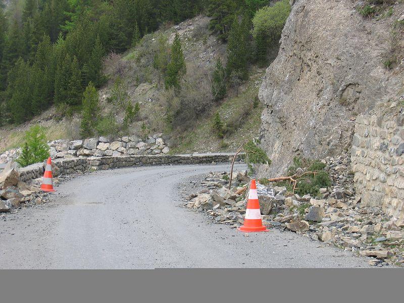 Col de la Bonette road, highest in Europe at 2860m