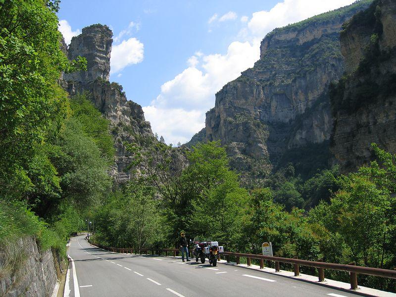 Gorges du Cians, heading for Valberg