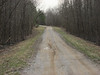 Dennis Cemetary Road - two lane dirt road. I'd stay away from it on your BB.