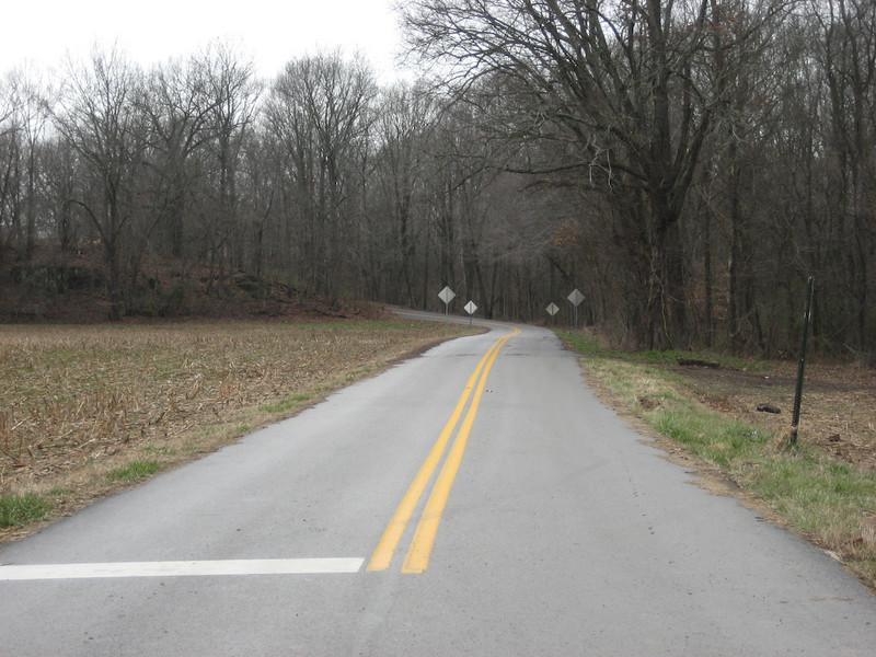 SR-269 - A paved two-laner.