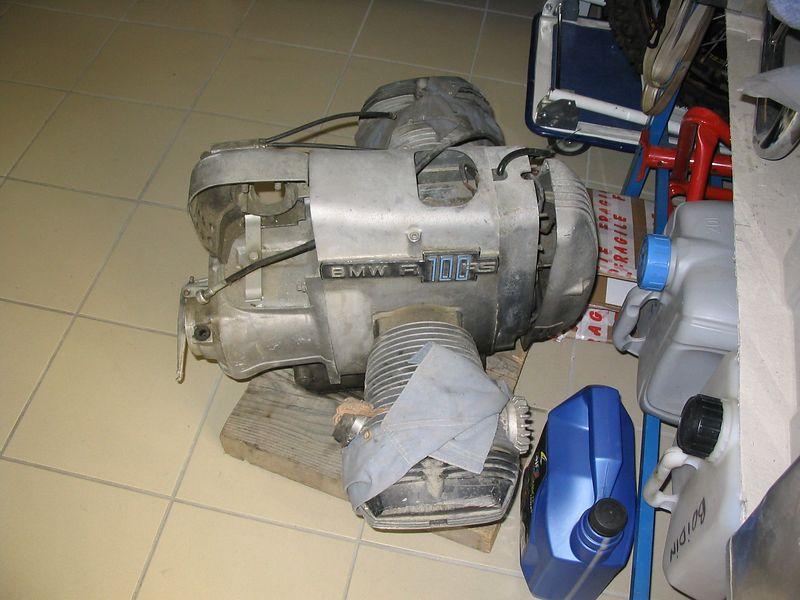 R100Rs motor
