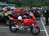 <b>The 620, smallest displacement bike on the trip.</b><br>