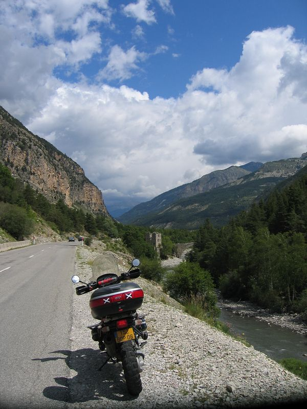 Heading up to Col D'allos