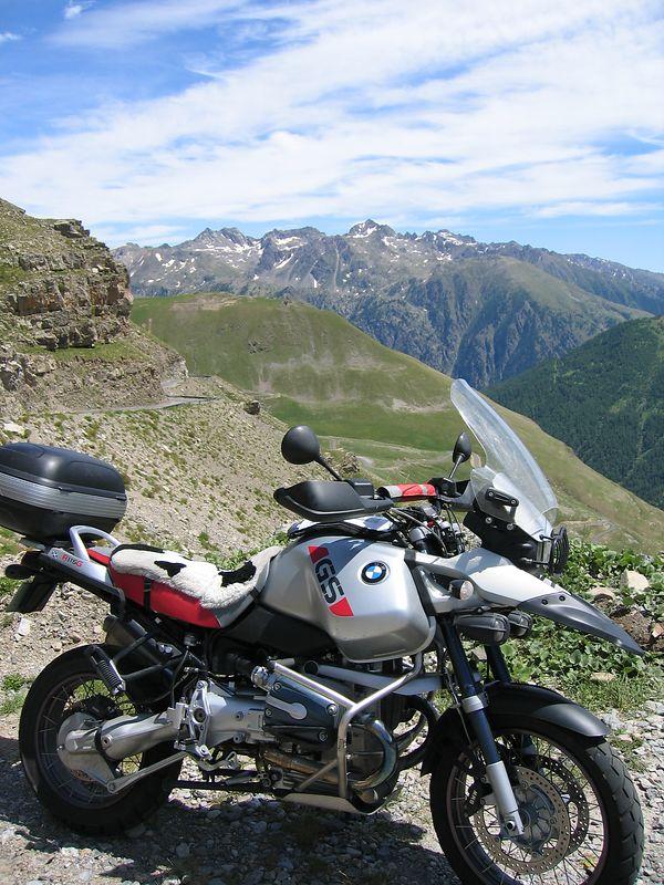 GSA on the way up to the Col de la Bonette 10/07/04