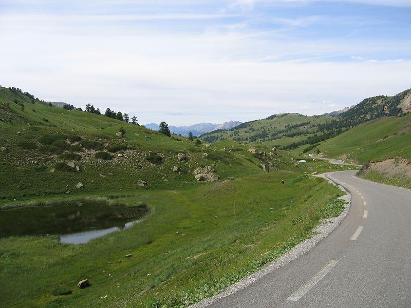 North side of the col du vars 10/07/04
