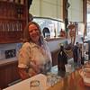The friendly barmaid.