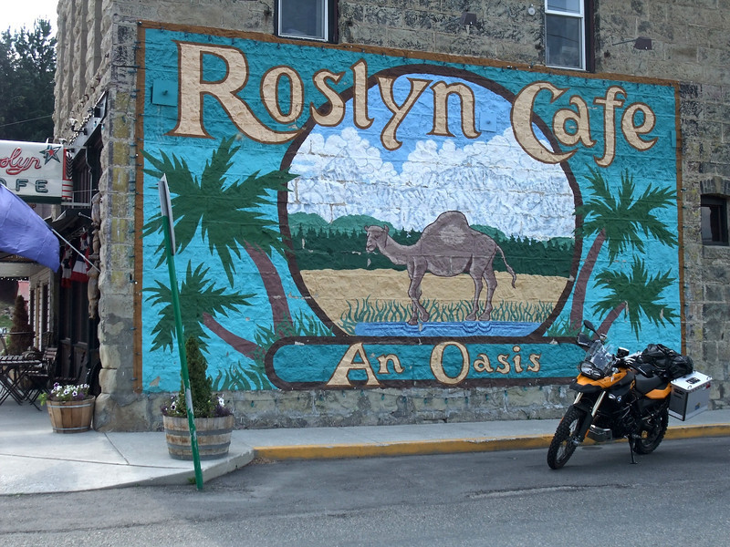Roslyn, WA. Set of the TV show Northern Exposure.