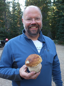 Wayne with the King of the Boletes!