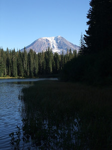 Olallie Lake, which I visited on a hike some years ago, approached from a completely different way.