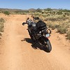 The suspension on the F800GS is plush. It is easy to go fast. The turns are more of a challenge with the weight but I am getting the feel for it.