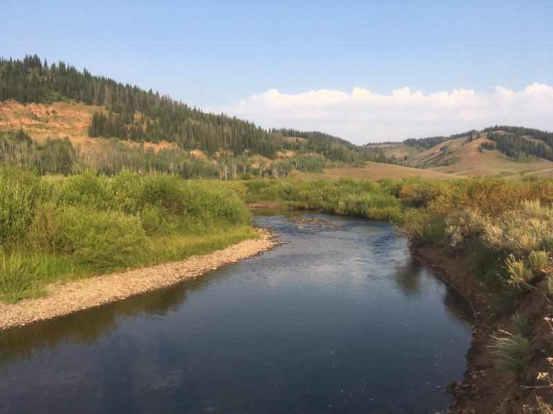 Ham's Fork River, WY