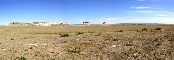 Pawnee Buttes Panorama