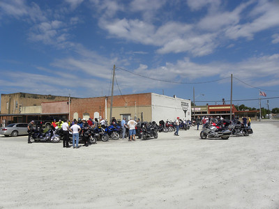Arriving at Chisholm Restaurant in Godley.