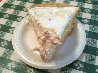 Coconut Cream Pie...that is why we are here!!!