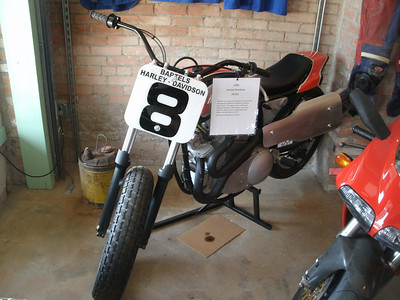 A 1980 XR750.  Does Harley have a part number for the cardboard oil catcher?