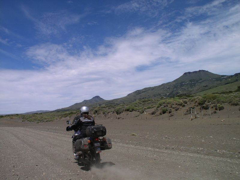Hensley on the Pampas, Argentina, Jan 04