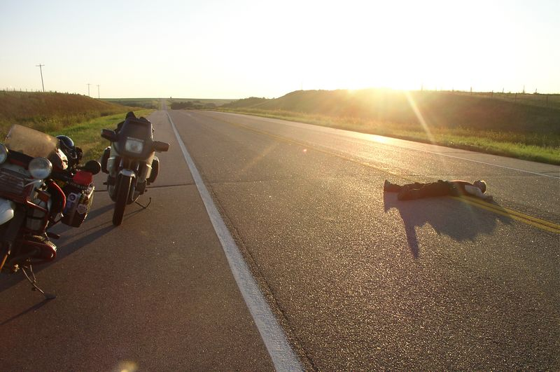 Mile 6,472. Day 28. Iowa, July 04