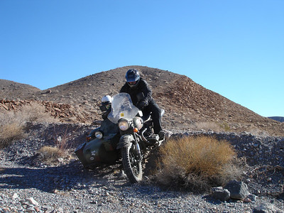 Ural-a-ling in Death Valley, January / February, 2007