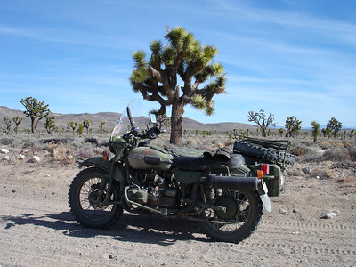 Ural-a-ling in Death Valley January / February 2006