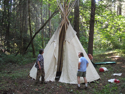 "Ural-a-ling on the ""Tipi Tour"" August 2011"