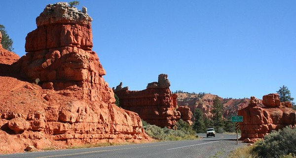 Red Canyon, near Bryce.