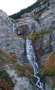 A beautiful waterfall just NE from Provo.