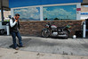 Traveling from San Francisco to Salt Lake on a BSA.  Wendover, NV.
