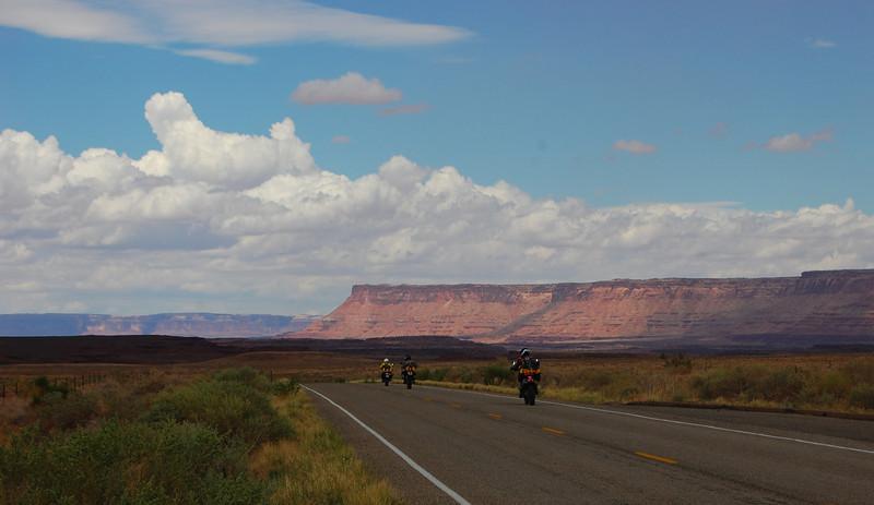Entering Canyonlands.