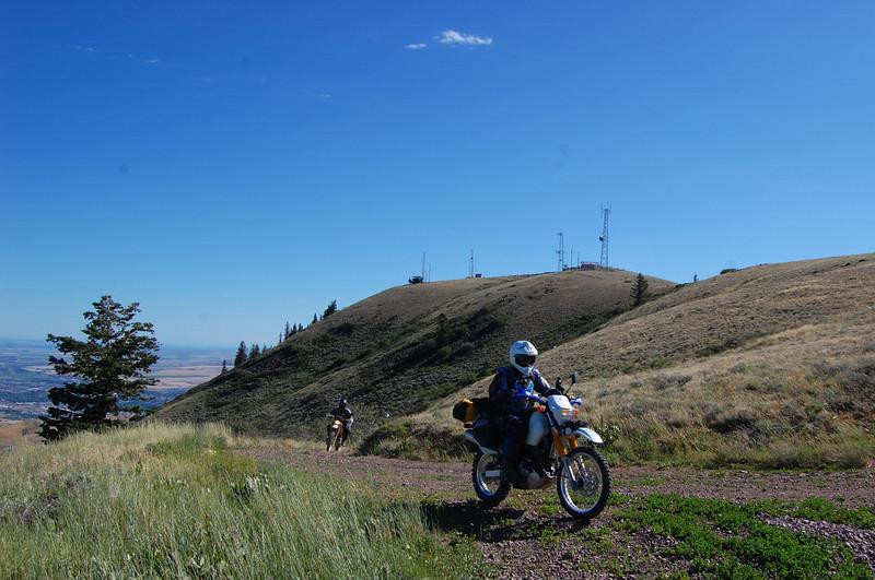 West of Pocatello