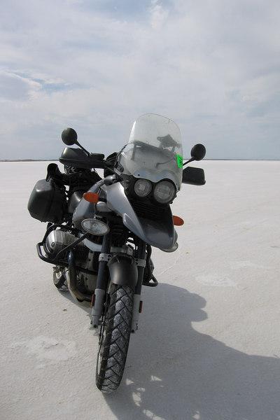 My GS on the salt