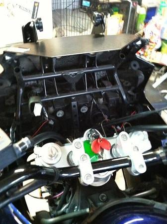 V-Strom Farkle and Maintenance pics