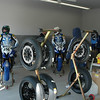Suited up, and ready to rumble!<br /> The blue tire warmer covers are removed just prior to going out on the track.