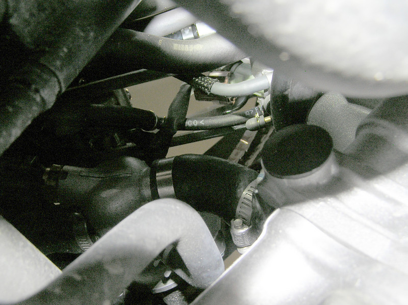 Front Throttle Body Vacuum Nipple