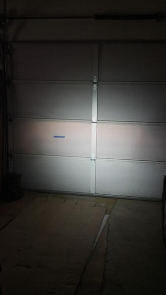 DR650 low beam MM10 LED