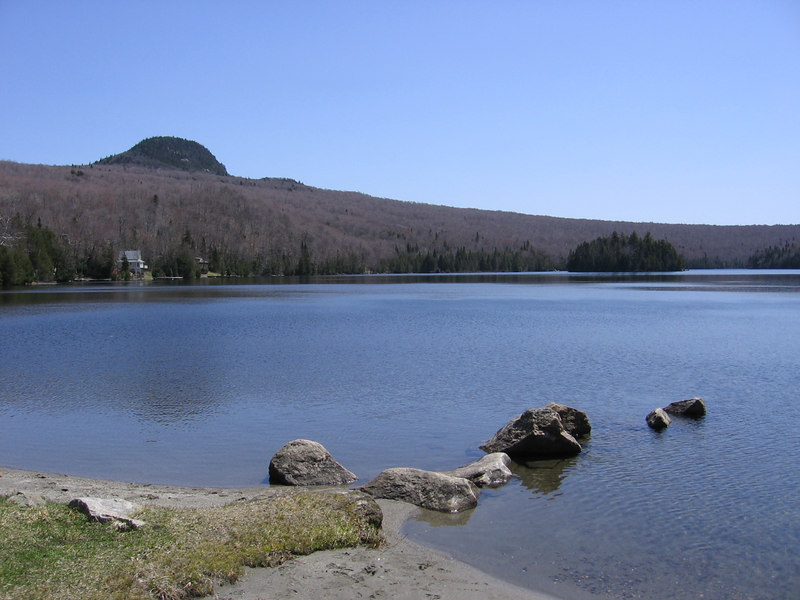 Long Pond in the mountains East of  lake Willoughby; this is one place I`d like to reside for the rest of my God for saken life...