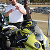 "Mr. Brock Davidson of Brock's Performance Products. He says ""The only way I can tell if my products are doing the job is if I race the bike myself. Then someone else gets on the bike and goes a lot faster!""<br /> <br />  <a href=""http://www.brocksperformance.com"">http://www.brocksperformance.com</a>"
