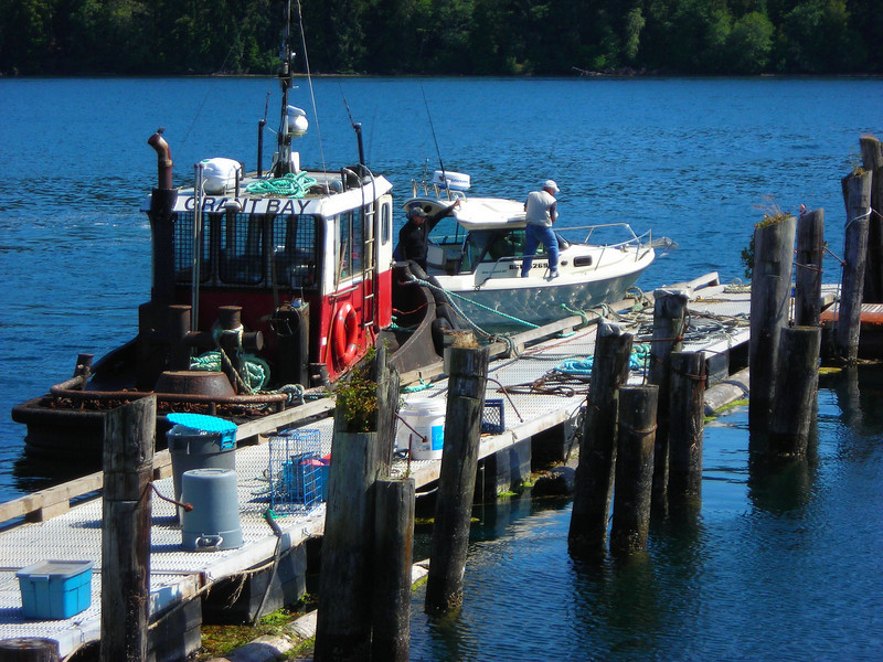 Towboat named after a beautiful bay West of Winter Harbour