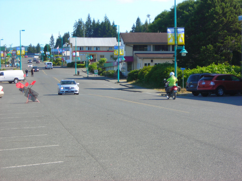 Dennis heads into Port Hardy in search of the liquor agency