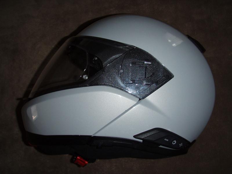 BMW helm evo 6 met ingebouwd communicatiesysteem.