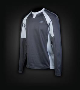 Klim Summit Tech T LS Shirt. Maat: XL Kleur: zwart/grijs Prijs: € 64,95 Aangekocht bij: www.motoadventurestore.be