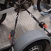 """BMW G450X bevestigd op de aanhangwagen met wielklemmen van  <a href=""""http://www.bandenboetiek.be"""">http://www.bandenboetiek.be</a> en zelfoprollende spanriemen van  <a href=""""http://www.dtect-is.be"""">http://www.dtect-is.be</a>"""