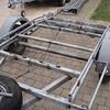 Ombouw motorfiets aanhangwagen, verwijderen van de oprijgoten.