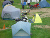My Campsite at Essex Junction.