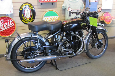 DucDude's 1952 Vincent! The star of the show!!!!!!!!! DucDude Won People's Choice Award At Martin Motorsports Show