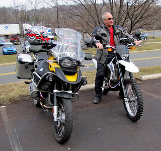 Ken is 2nd guessing his decision to buy the new Bumble Bee Adventure after feeling the comfort seat on my 450!