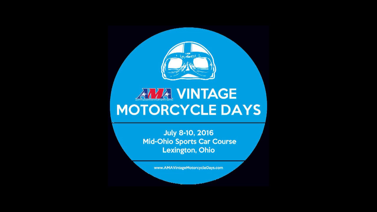 Trials at Mid Ohio Vintage Motorcycle Days July 8,9,10 2016