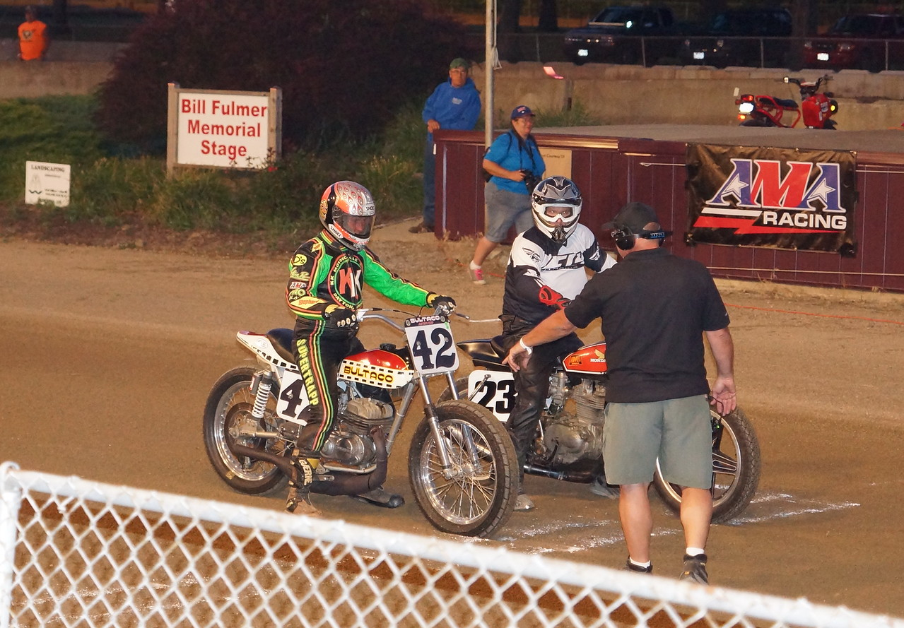 Steve Moorehead at Ashland flat Track