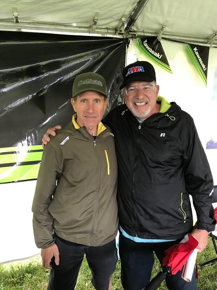 Gary Semics and Larry Hughey
