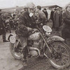 ISDT 1961, Wales - Monty Banks [906 CXM] Greeves Works team