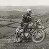 ISDT 1961, Wales -  Bud Ekins of the USA on a 650cc Triumph